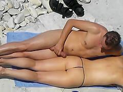 Big Boobs At The Beach Hidden Cam