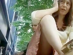 Hottest Homemade clip with Voyeur, Outdoor scenes