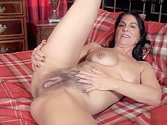 MORE KAY big nips pussy lips, close up BUSH