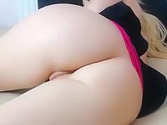 Hot Blonde Webcam Teen Fingering Part 04