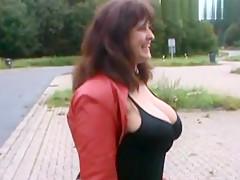 Fotzen-Doktors-Sperma fur Hobby-Strassen-Nutte Heidi