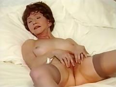 Incredible Amateur video with Grannies, Masturbation scenes