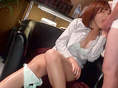 Horny lady gets banged by the masseur