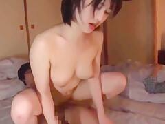 Japanese Milf Has Fun With 2 Young Boys Gangbang