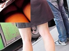 Way-Out heat from the upskirt closeups
