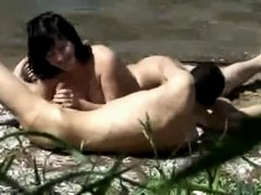 Dibshots two - Outdoor engulf n fuck - caught by bird watcher