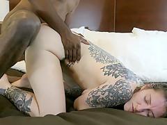 RAW Cute PAWG Slut Gets Destroyed by BBC Doggystyle Cums Deep (Amateur)