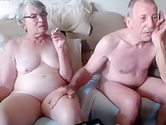 Crazy Homemade record with Webcam, Grannies scenes