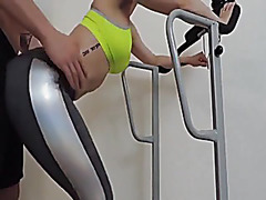 Non-Professional Pair Roleplay A Gym Fuck