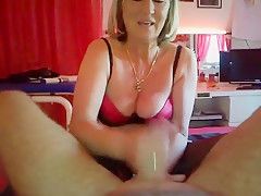 Crazy Homemade video with handjob scenes