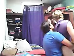 Caught my lesbo GF fucking her girlfriend. Hidden livecam