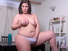 Montse is a smashing brunette with big tits who likes to masturbate,...