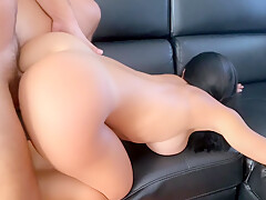 HOT Step-Mom gets fucked hard by her step-son