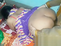 Indian bhabhi anal and pussy painful sex interracial anal
