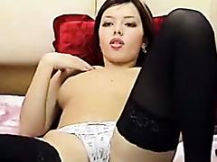 hot asian babe solo